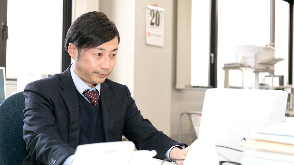営業本部|白川 永士