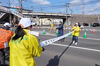 北九州マラソンのボランティア活動