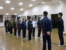 新入社員研修 初日 基礎行動訓練
